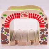 Dřevěné hračky Bigjigs Rail Dvojitý železniční tunel