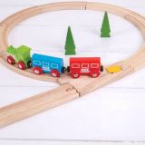 Dřevěné hračky Bigjigs Rail Přehazovací výhybka 2 ks
