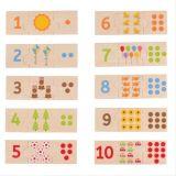 Bigjigs Toys Edukativní puzzle počítání - poškozený obal