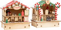 Small Foot Vánoční stánky s palačinkami a sladkostmi