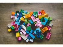 Dřevěné hračky L-W Toys Junior kostky Zvířata