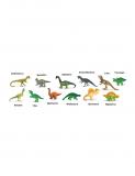 Dřevěné hračky Safari Ltd - Tuba - Dinosauří - Sue a její přátelé