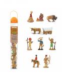 Dřevěné hračky Safari Ltd - Tuba - Divoký západ