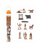 Dřevěné hračky Safari Ltd - Tuba - Indiáni