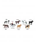 Dřevěné hračky Safari Ltd - Tuba - Koně a jejich jezdci