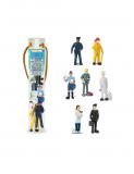 Dřevěné hračky Safari Ltd - Tuba - Lidé v práci
