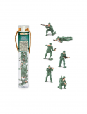 Dřevěné hračky Safari Ltd - Tuba - Vojáci