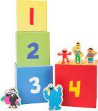 Stohovací věž SESAME STREET s figurkami