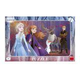 Dino Puzzle Frozen II sestry s Kristoffem 15 dílků