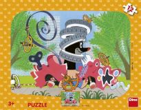 Dino Puzzle Krtek opravář