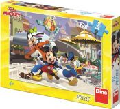 Dino Puzzle Mickey a přátelé 24 dílků