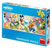 Dino Puzzle Mickey s kamarády sportují 150 dílků