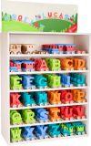 Dřevěné hračky Dřevěný vláček barevná abeceda Small foot by Legler