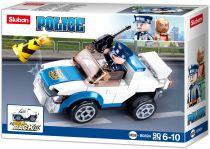 Sluban Girls Dream Village M38-B0824 Natahovací auto policejní hlídky