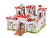 Bigjigs Toys Hrad krále George - poškozený obal