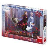 Dino Puzzle Frozen II sestry v lese 300 XL dílků