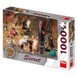 Dino Puzzle Tajemné kočičky 1000 dílků