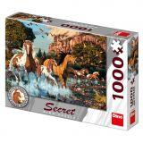 Dino Puzzle Koně 1000 dílků