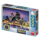 Dino Puzzle Opera v Sydney neon 1000 dílků