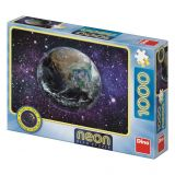 Dino Puzzle Planeta Země neon 1000 dílků