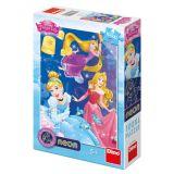 Dino Puzzle Princezny: Oslava 100 XL dílků