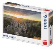 Dino Puzzle Skalnaté stěny 1000 dílků