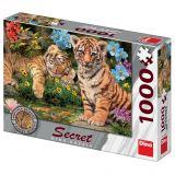 Dino Puzzle Tygříci tajemná kolekce 1000 dílků