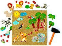 Hess Zatloukací hra safari