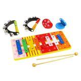 Dřevěné hračky Bigjigs Toys Dětský hudební set