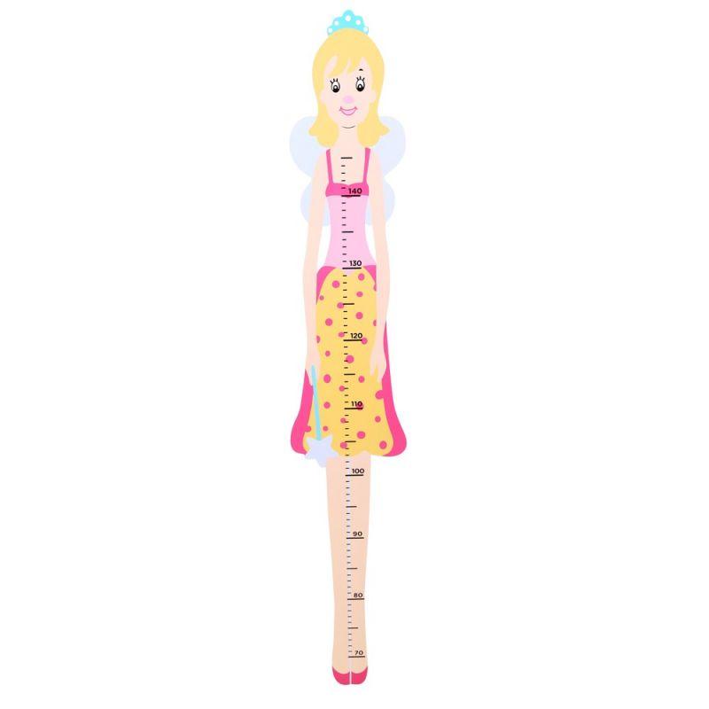 Dřevěné hračky Bigjigs Toys Dětský dřevěný metr víla