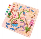 Dřevěné hračky Bigjigs Toys Žebříky a hadi