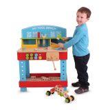 Bigjigs Toys dřevěné hračky - Ponk - pracovní stůl