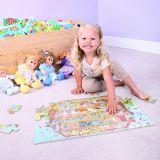 Dřevěné hračky Bigjigs Toys Puzzle dinosauři 96 dílků