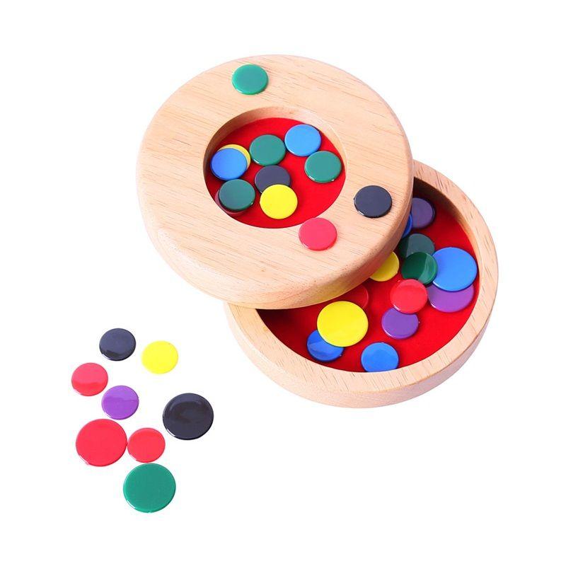 Dřevěné hračky Bigjigs Toys Dřevěné blechy