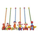Bigjigs Toys tahací hračky - Jezdík cirkus