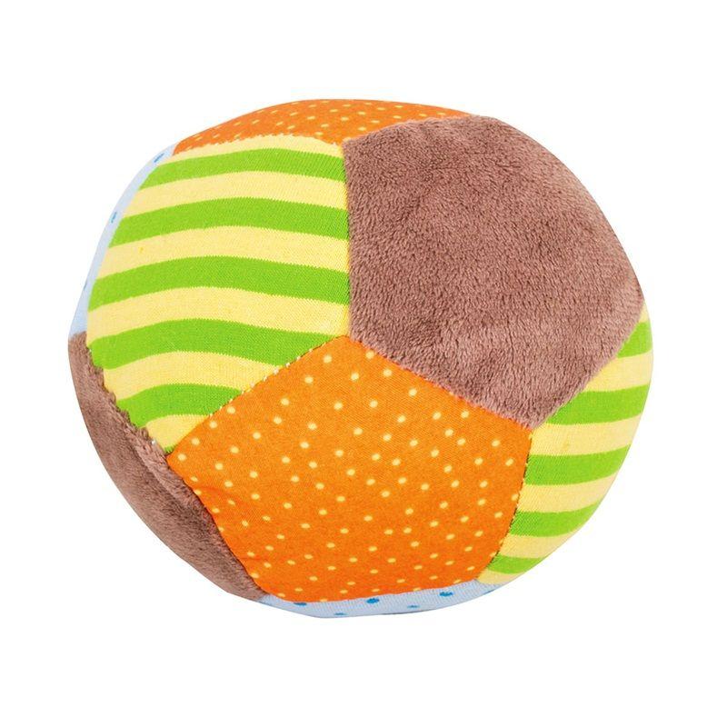 Dřevěné hračky Bigjigs Baby Textilní Chrastítko balónek - Opička Cheeky Bigjigs Toys