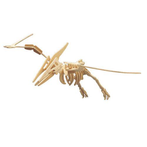 Dřevěné hračky Woodcraft Dřevěné 3D puzzle velký Pteranodon Woodcraft construction kit