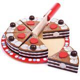 Bigjigs Toys Krájecí čokoládový dort - poškozený obal