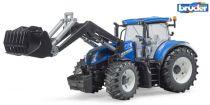 Bruder Traktor NEW HOLLAND T7.315 s čelním nakladačem