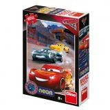 Dino Puzzle CARS 3: Vítězné kolo 100 XL NEON