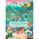 Petitcollage Znovupoužitelné samolepky se scénou Svět mořské víly - poškozený obal