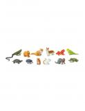 Dřevěné hračky Safari Ltd - Tuba Domácí zvířata