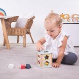 Dřevěné hračky Bigjigs Toys Motorická kostka 100% FSC