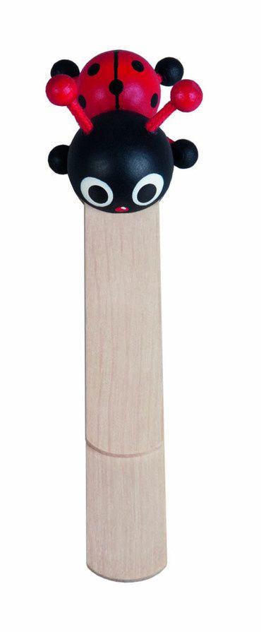 Dřevěné hračky Detoa Záložka do knížky Beruška