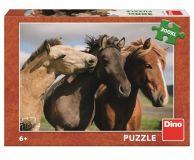 Dino Puzzle Barevní koně 300 XL dílků