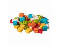 Dřevěné hračky L-W Toys Stavebnice pro nejmenší stavitele KOSTKY 50 ks