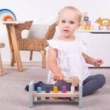Dřevěné hračky Bigjigs Toys Zatloukačka 100% FSC