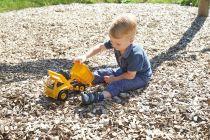 Dřevěné hračky Lena ECO aktivní sklápěč