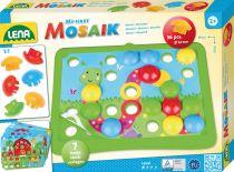 Dřevěné hračky Lena Mozaika motiv příroda