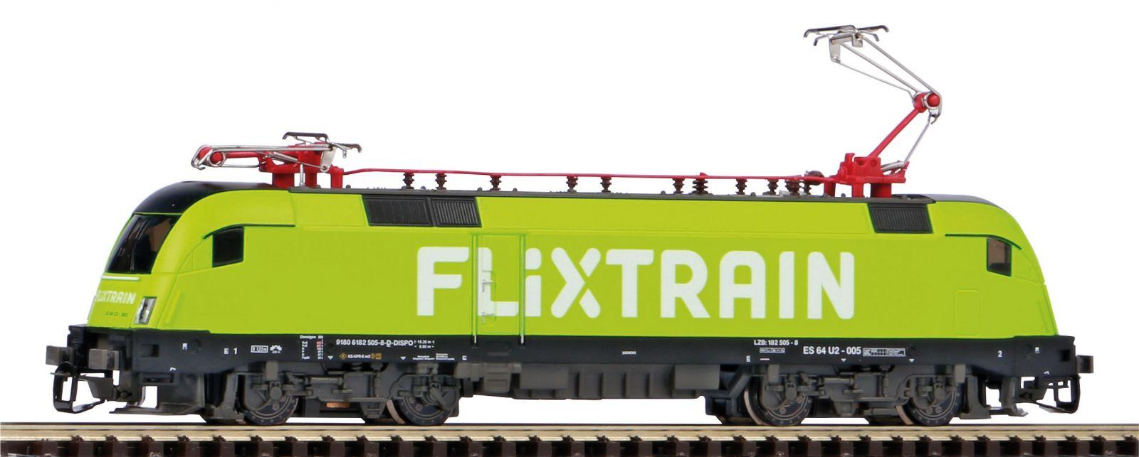 Dřevěné hračky Piko Elektrická lokomotiva BR 182 Taurus Flixtrain VI - 47436